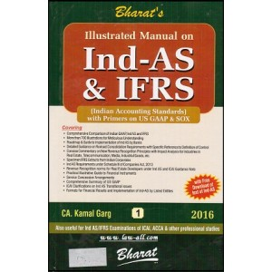 Bharat's Illustrated Manual on Ind - AS & IFRS [2 HB Vols] - IND AS with Primers on US GAAP & SOX